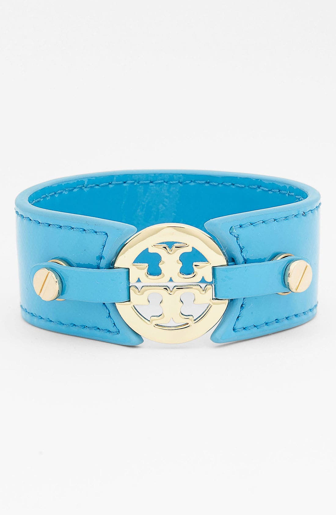 Alternate Image 1 Selected - Tory Burch Patent Leather Bracelet