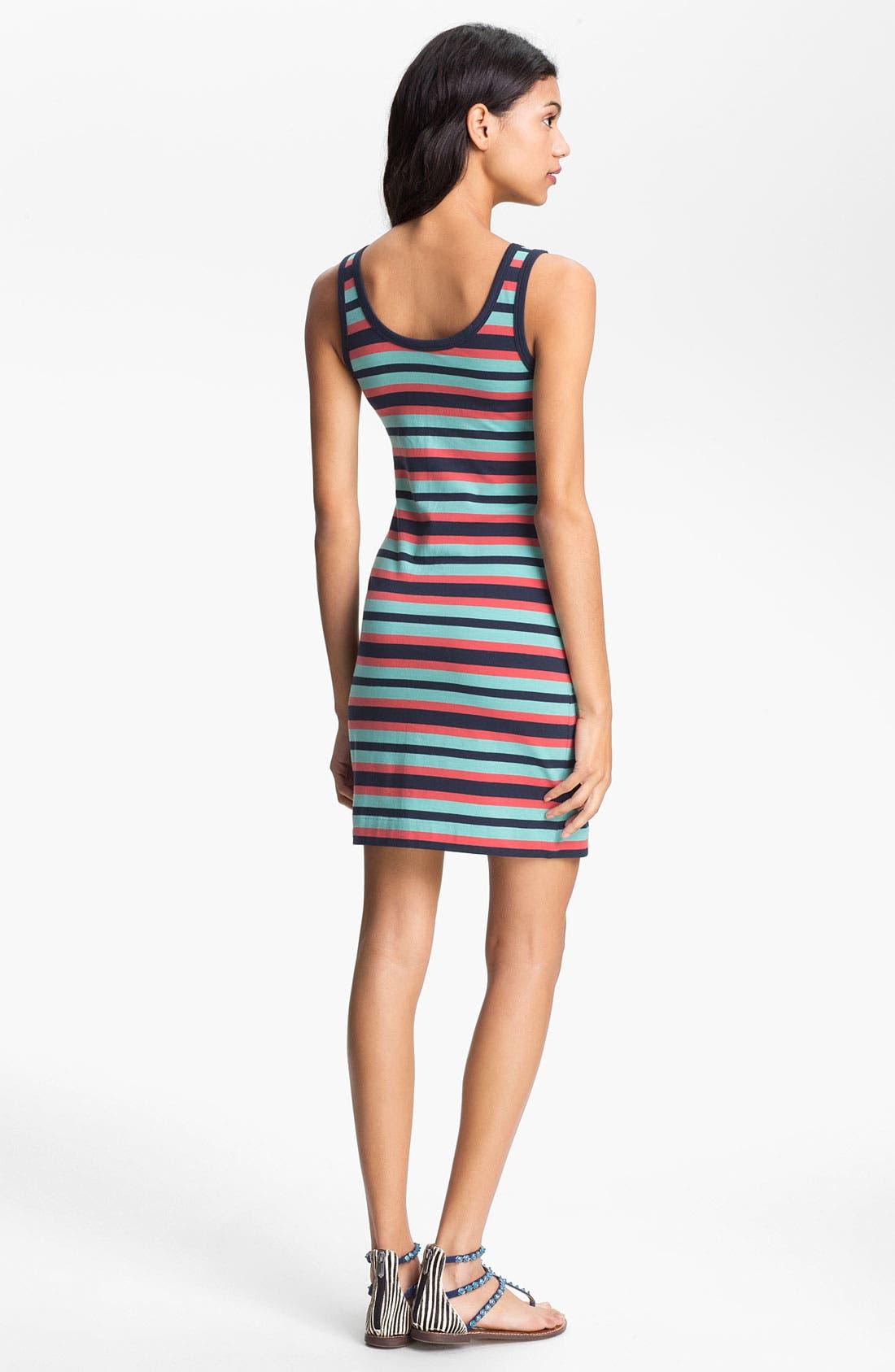 Alternate Image 2  - French Connection Stripe Tank Dress