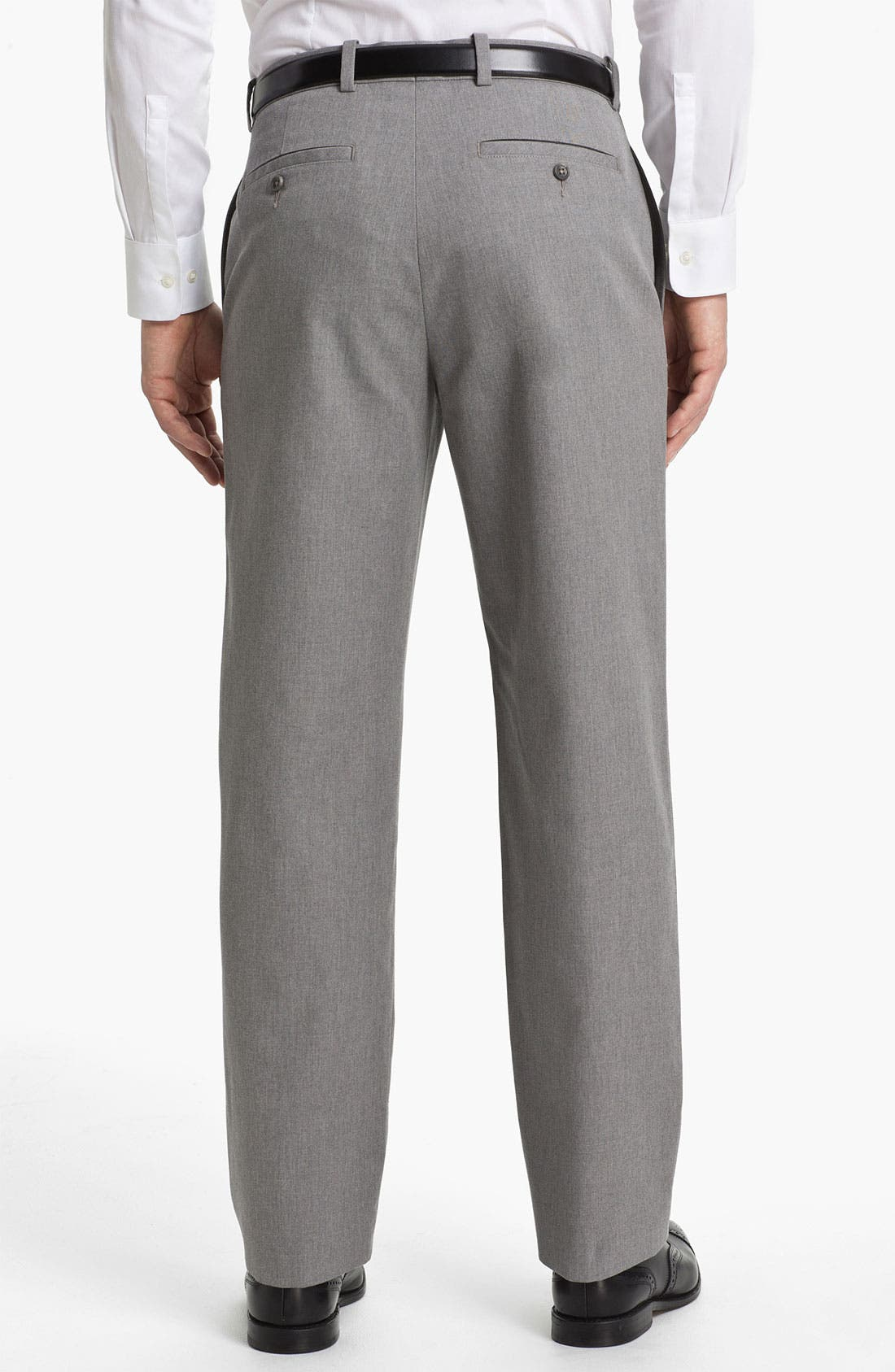 Alternate Image 2  - John W. Nordstrom® Mélange Supima® Cotton Pants