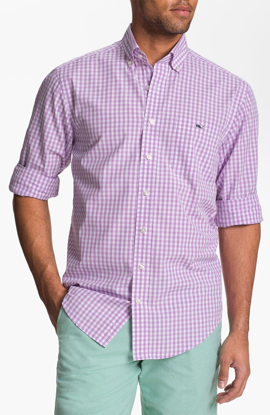 Alternate Image 1 Selected - Vineyard Vines 'Sandy Point - Tucker' Sport Shirt
