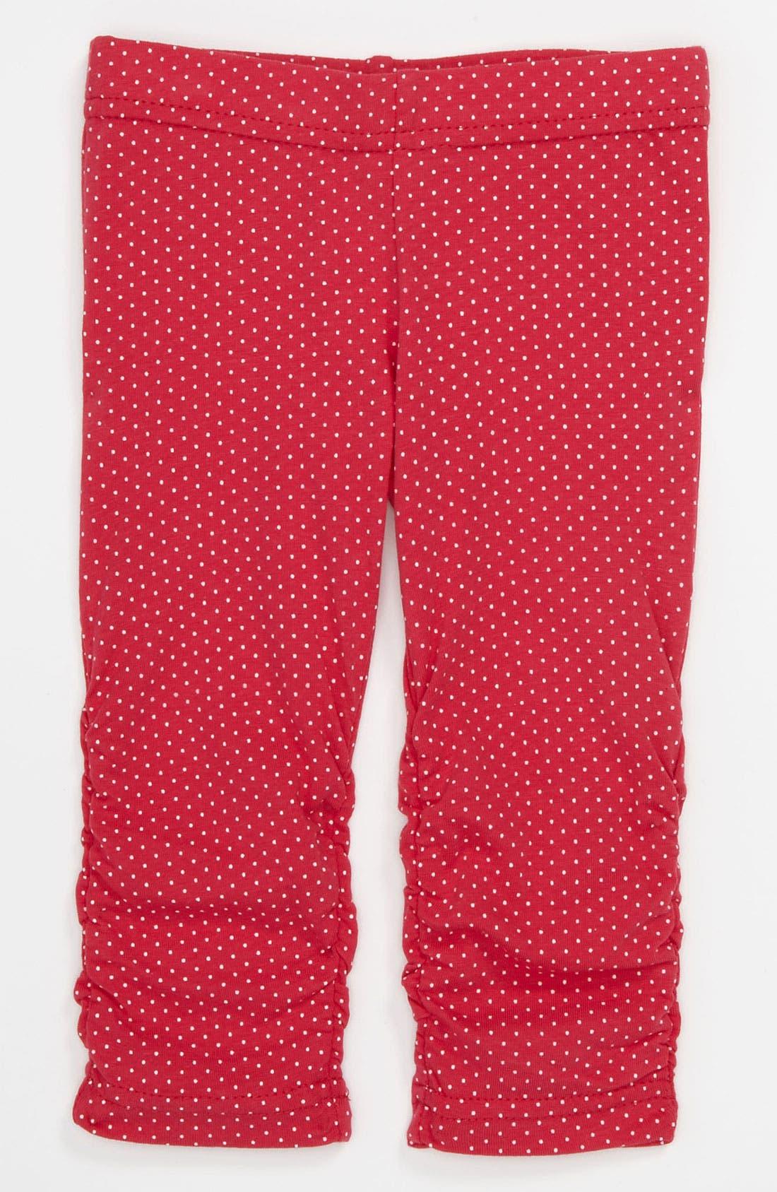 Alternate Image 1 Selected - Pumpkin Patch Capri Leggings (Infant)