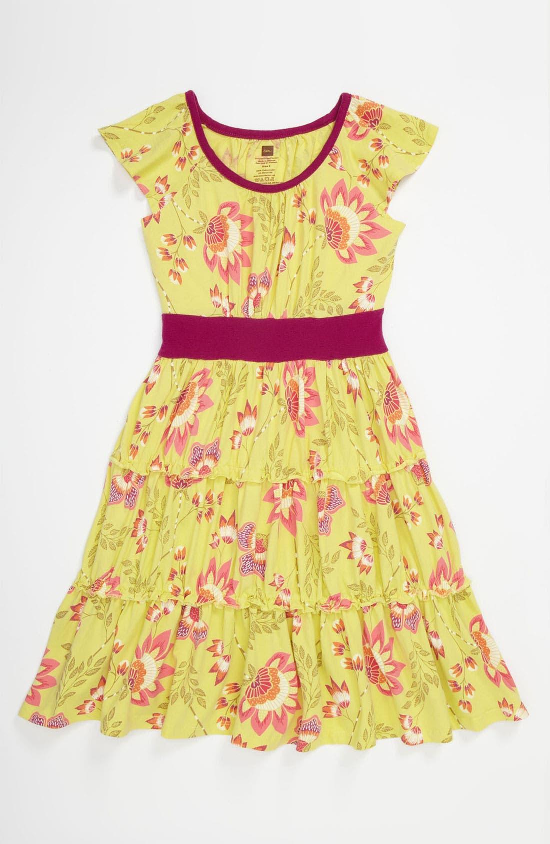 Alternate Image 1 Selected - Tea Collection 'Ardmore' Dress (Little Girls & Big Girls)