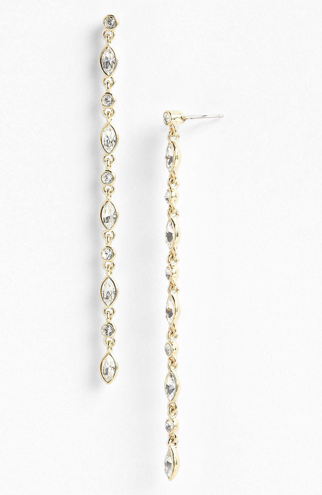 Alternate Image 1 Selected - Givenchy Linear Crystal Earrings