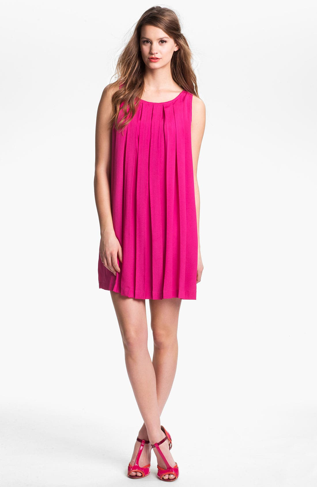 Alternate Image 1 Selected - Press A-Line Crepe Shift Dress