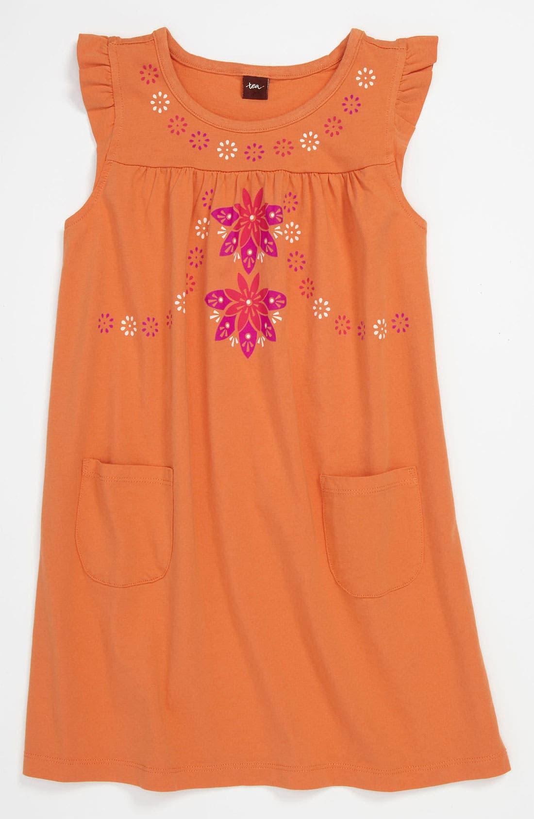 Main Image - Tea Collection Empire Waist Dress (Little Girls & Big Girls)