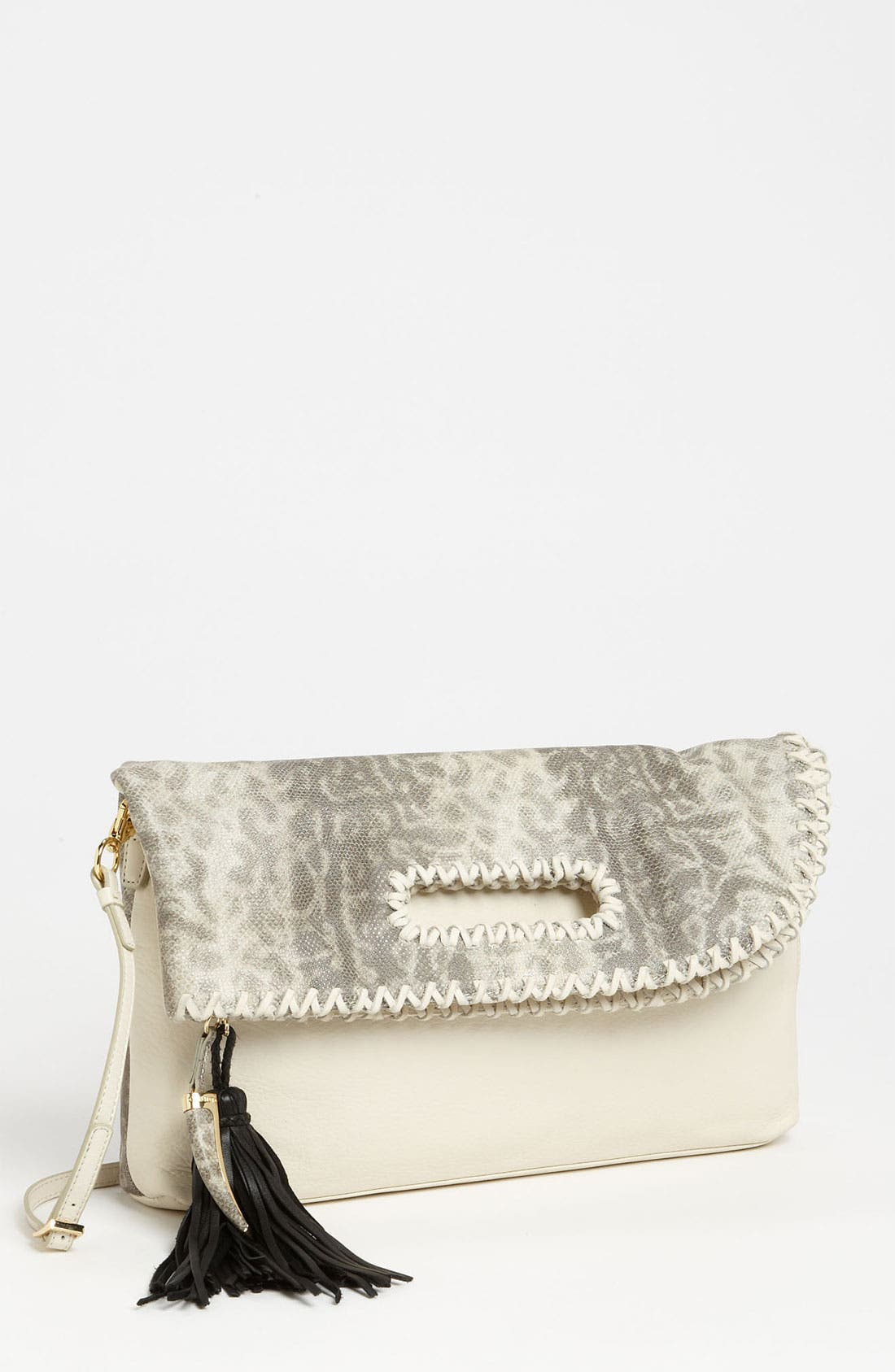 Alternate Image 1 Selected - Vince Camuto 'Jules' Snake Embossed Clutch