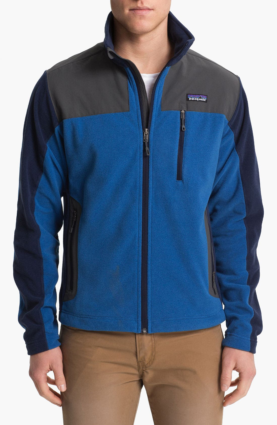 Alternate Image 1 Selected - Patagonia 'Cedars' Zip Fleece Jacket