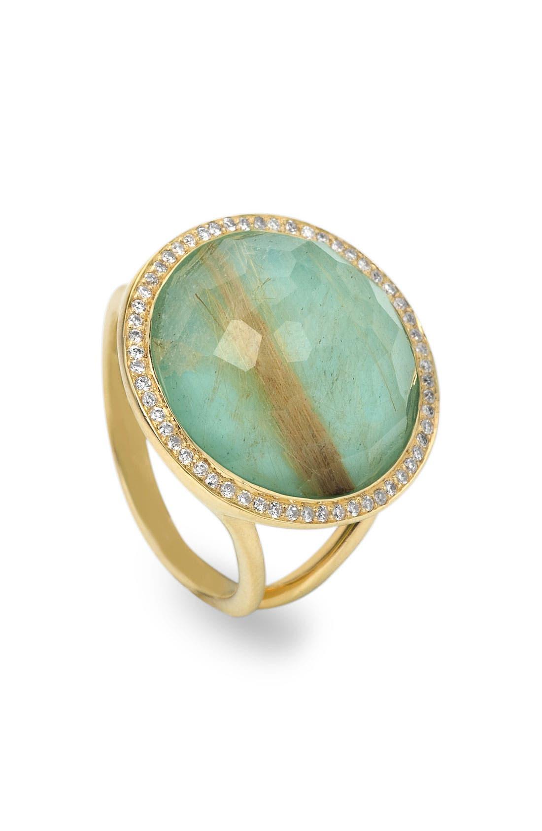 Alternate Image 1 Selected - Ippolita 'Rock Candy - Lollipop' Diamond & 18k Gold Ring