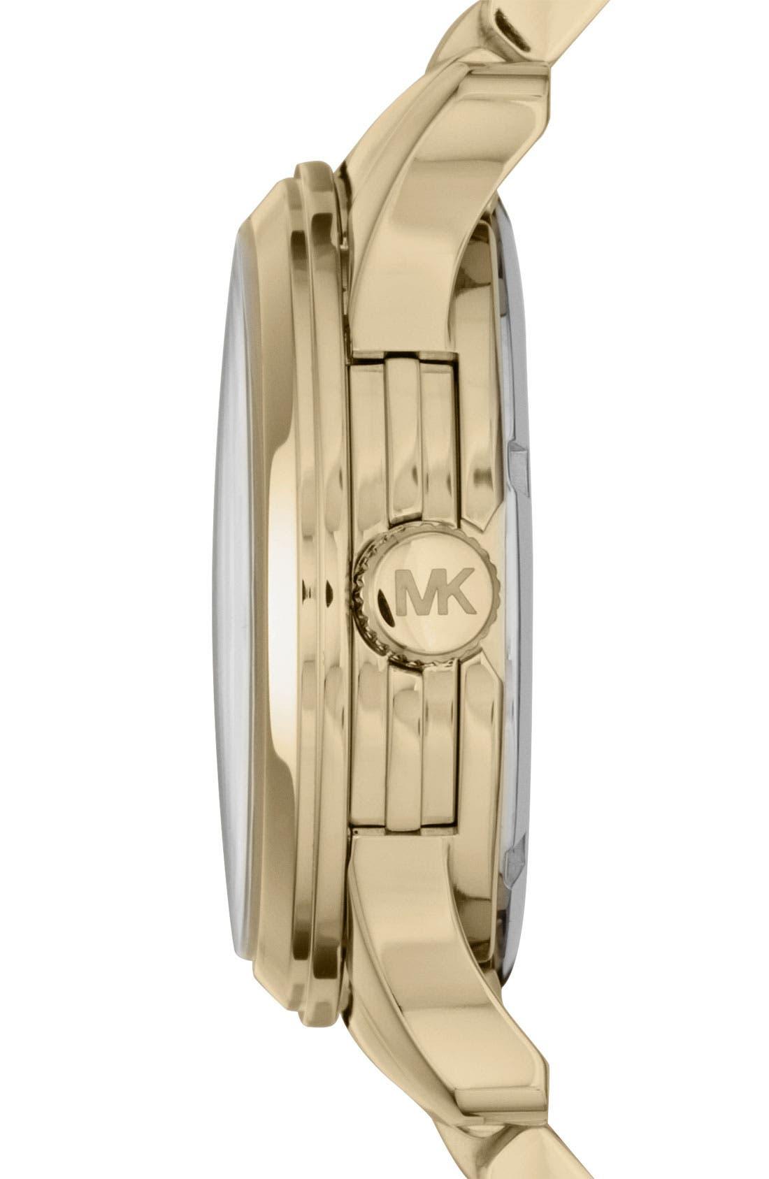 Alternate Image 2  - Michael Kors 'Runway' Crystal Dial Bracelet Watch