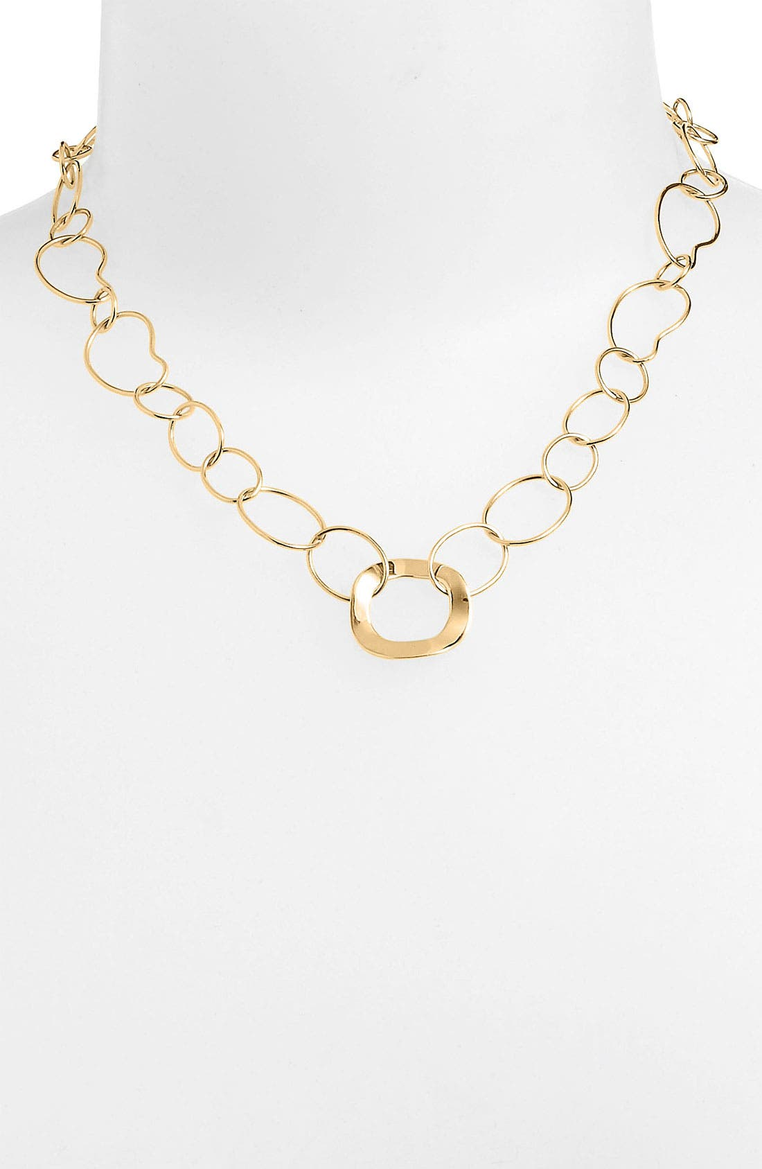 Alternate Image 1 Selected - Ippolita 'Plain' 18k Gold Chain Necklace