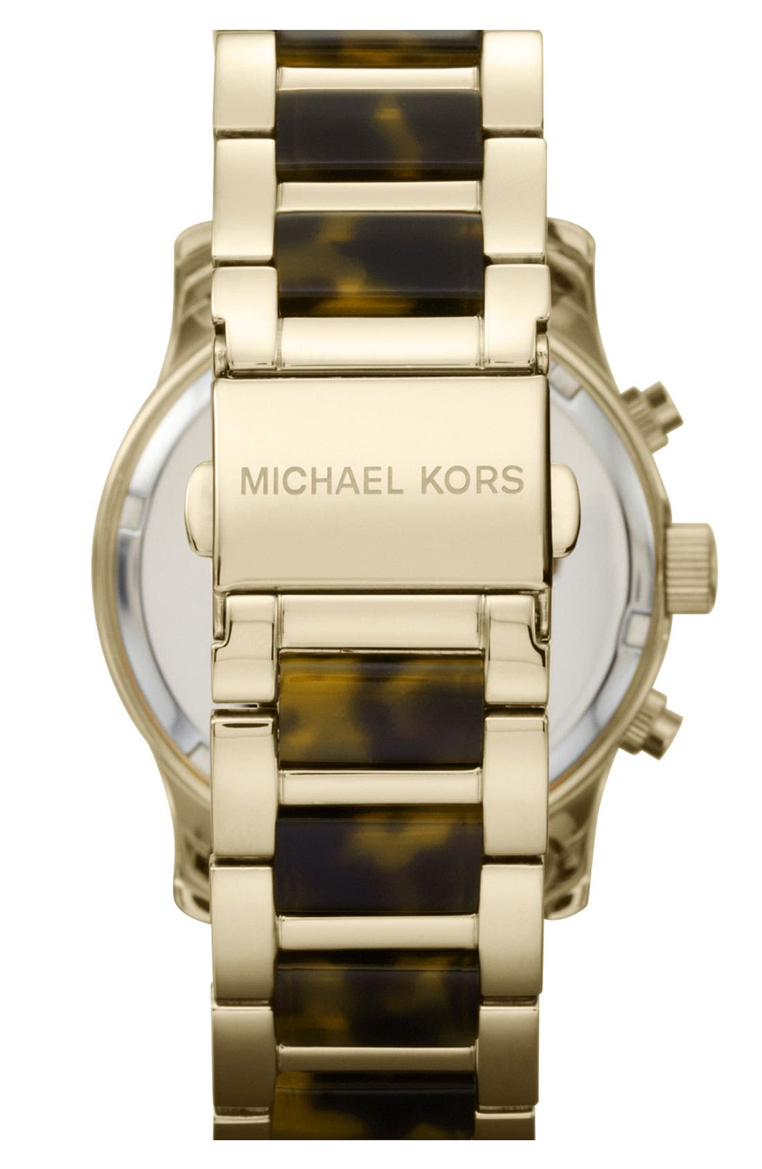 Alternate Image 3  - Michael Kors 'Runway' Chronograph Bracelet Watch, 38mm