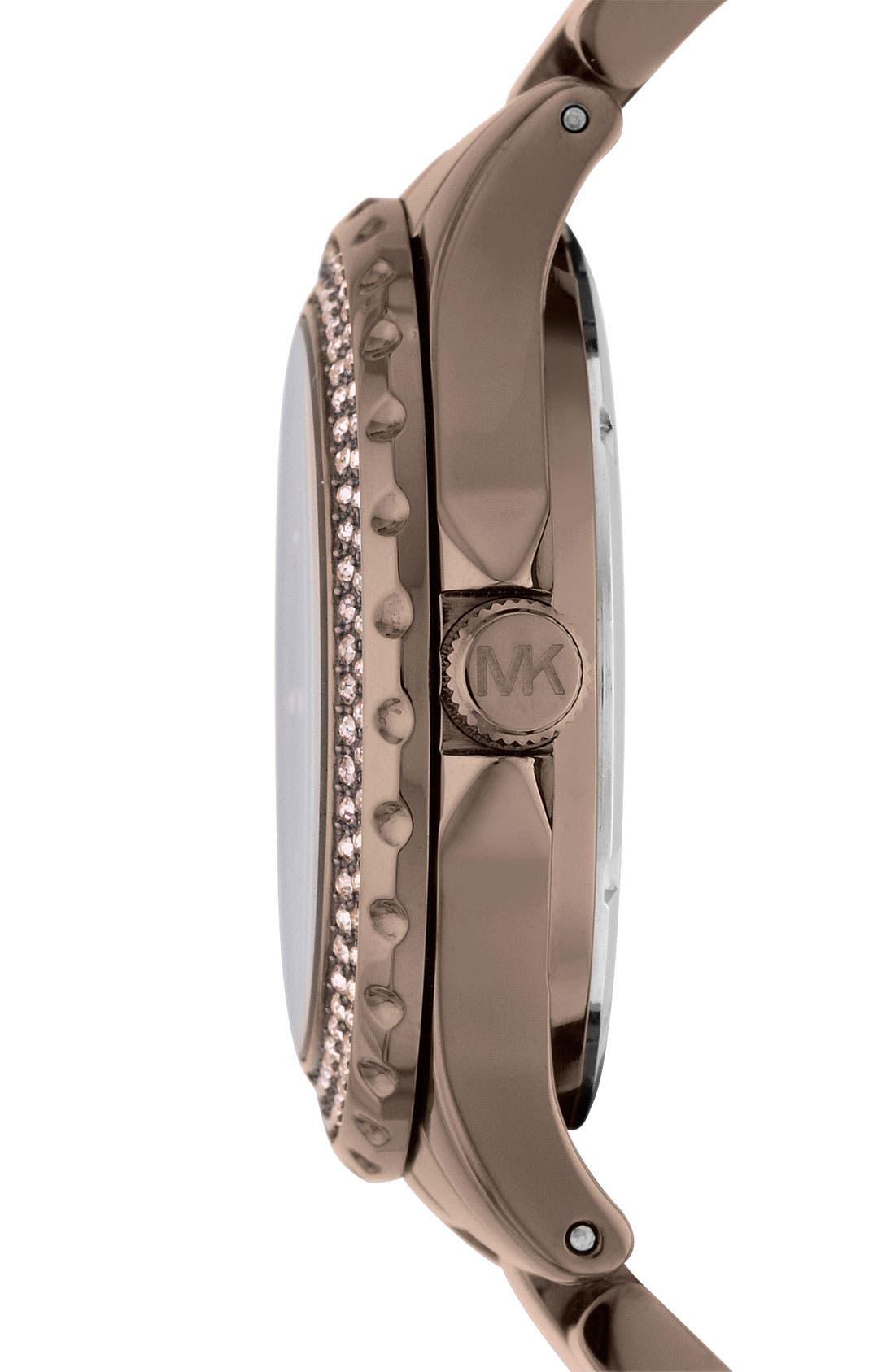 Alternate Image 2  - Michael Kors 'Madison' Round Bracelet Watch, 41mm