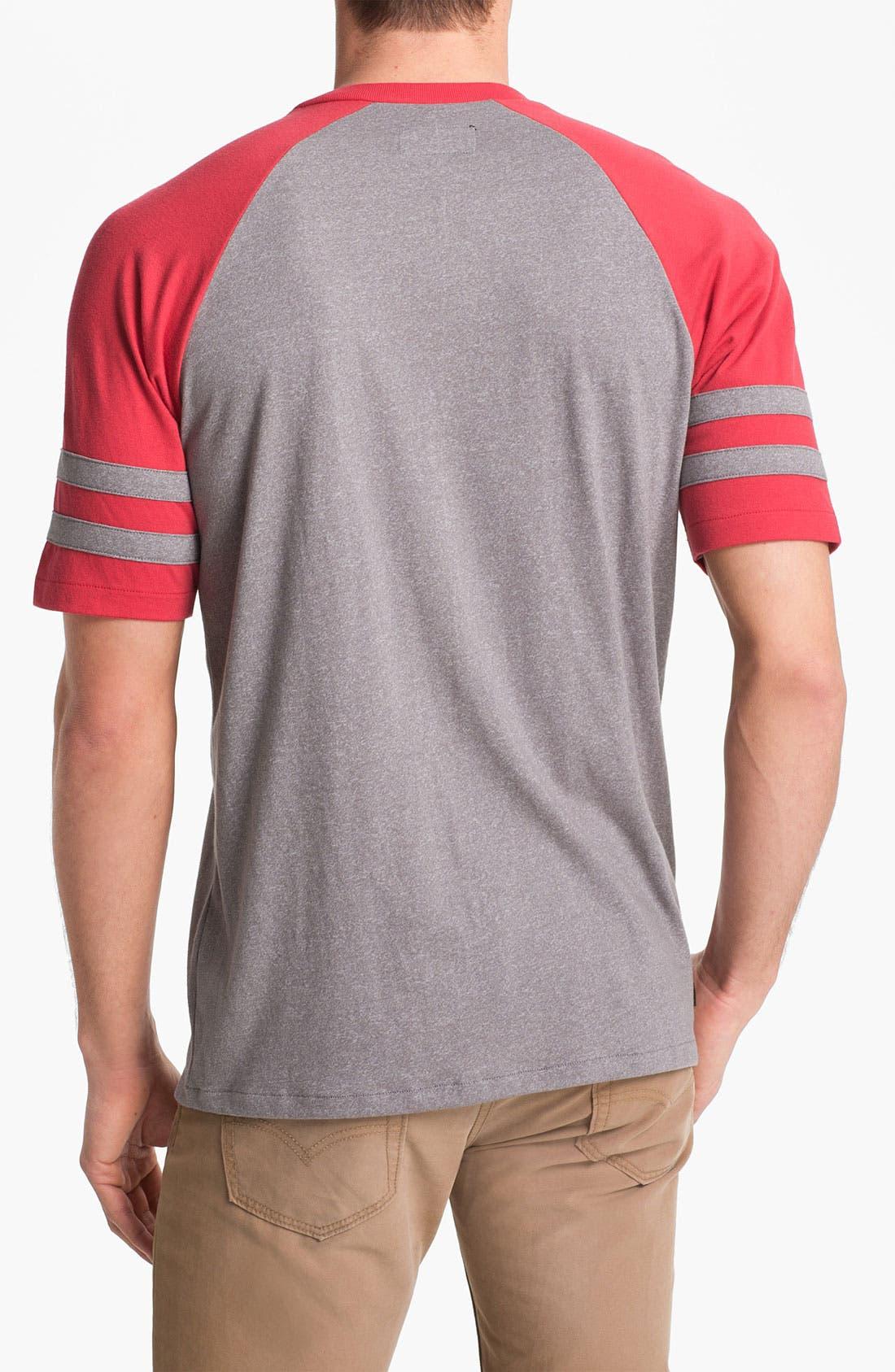 Alternate Image 2  - Brixton 'Victor' V-Neck T-Shirt