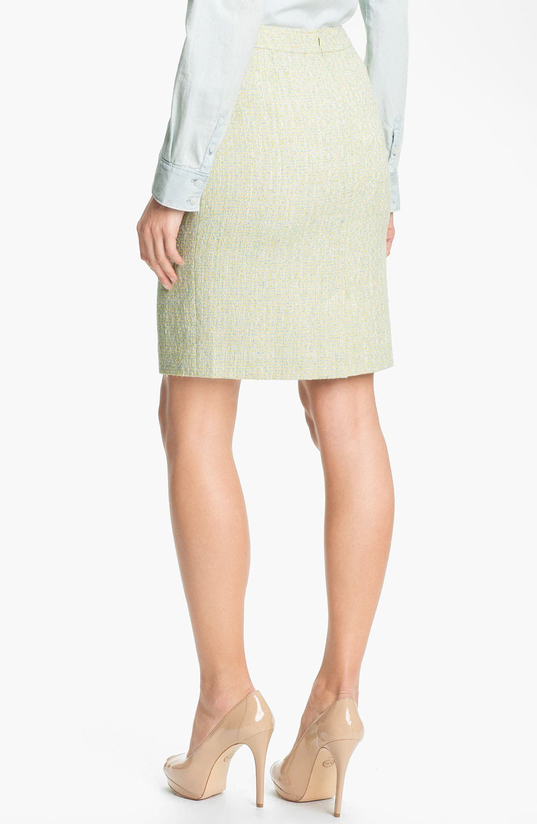 Alternate Image 3  - Halogen® Tweed Pencil Skirt