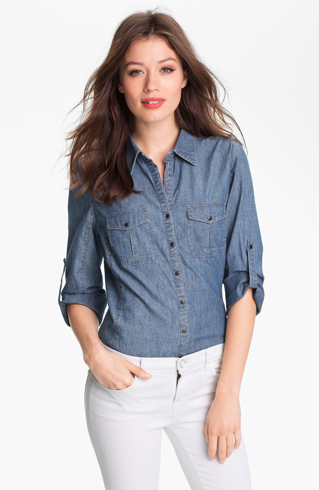 Alternate Image 1 Selected - Nexx Denim Shirt