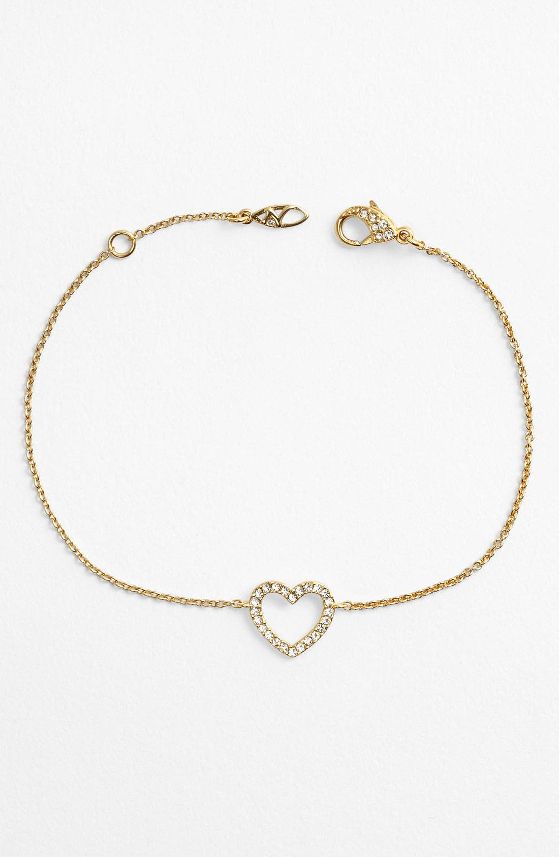 Alternate Image 1 Selected - Nadri Heart Station Bracelet (Nordstrom Exclusive)