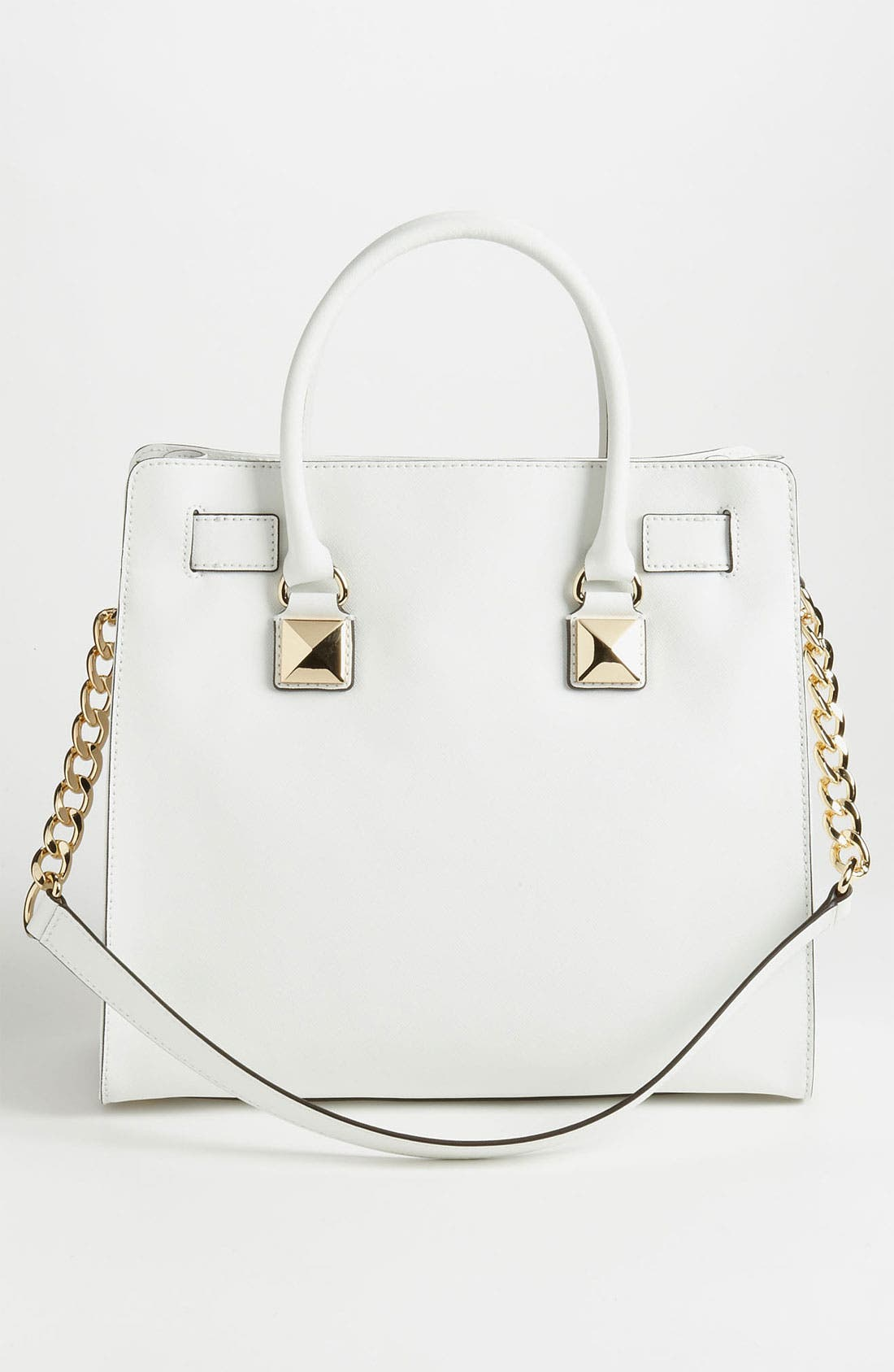 Alternate Image 4  - MICHAEL Michael Kors 'Hamilton - Large' Studded Leather Tote