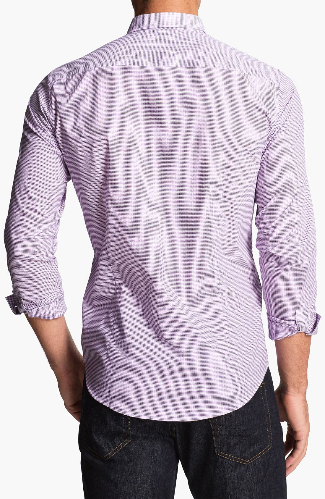Alternate Image 2  - BOSS HUGO BOSS 'Remus' Slim Fit Sport Shirt