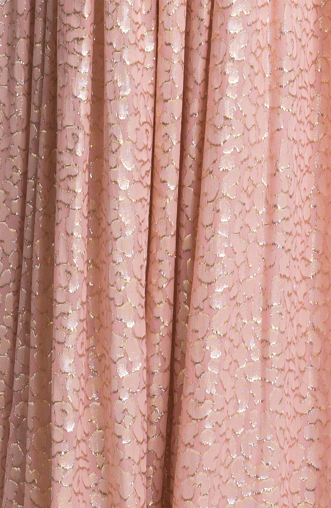 Alternate Image 3  - ERIN erin fetherston Metallic Silk Gown