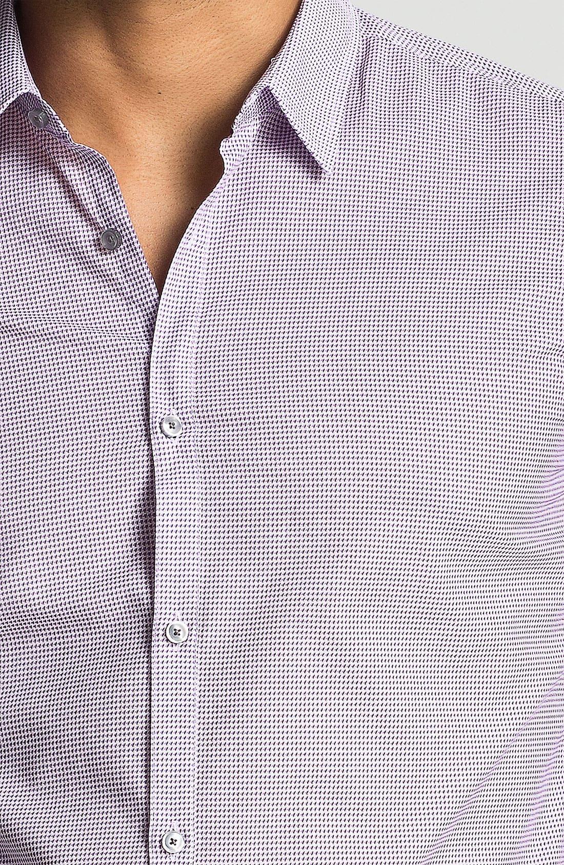 Alternate Image 3  - BOSS HUGO BOSS 'Remus' Slim Fit Sport Shirt