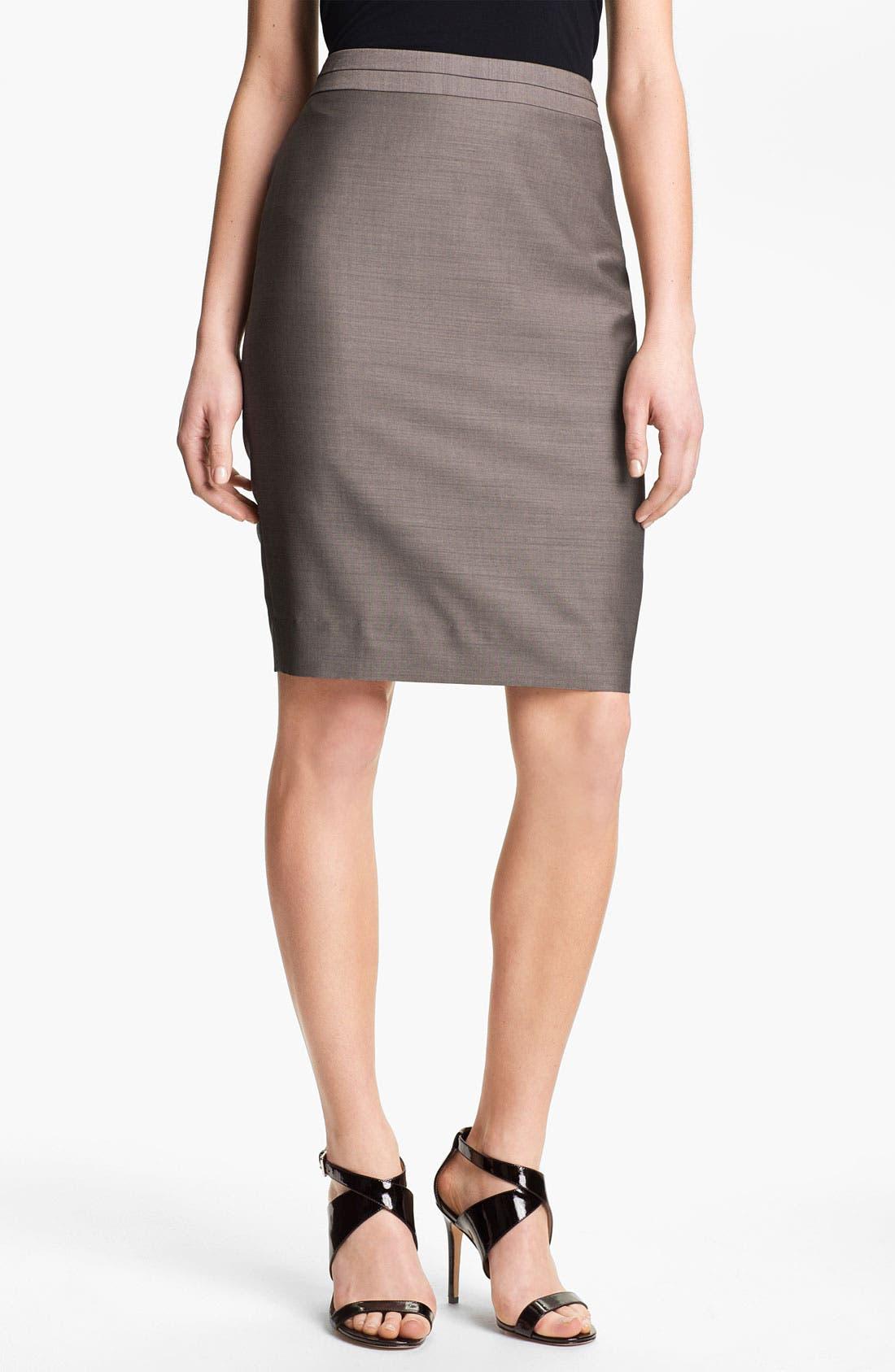 Main Image - Classiques Entier 'Tiverton' Suiting Pencil Skirt