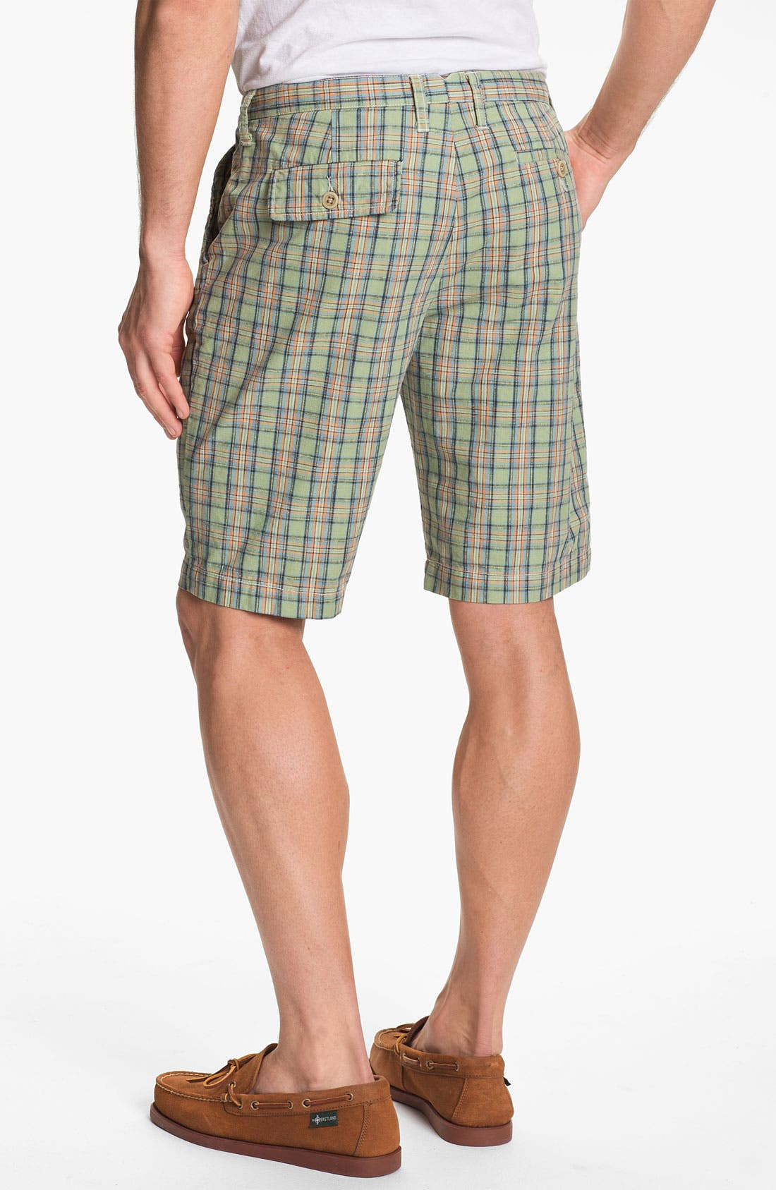 Alternate Image 2  - Just A Cheap Shirt 'Sorrento' Plaid Shorts