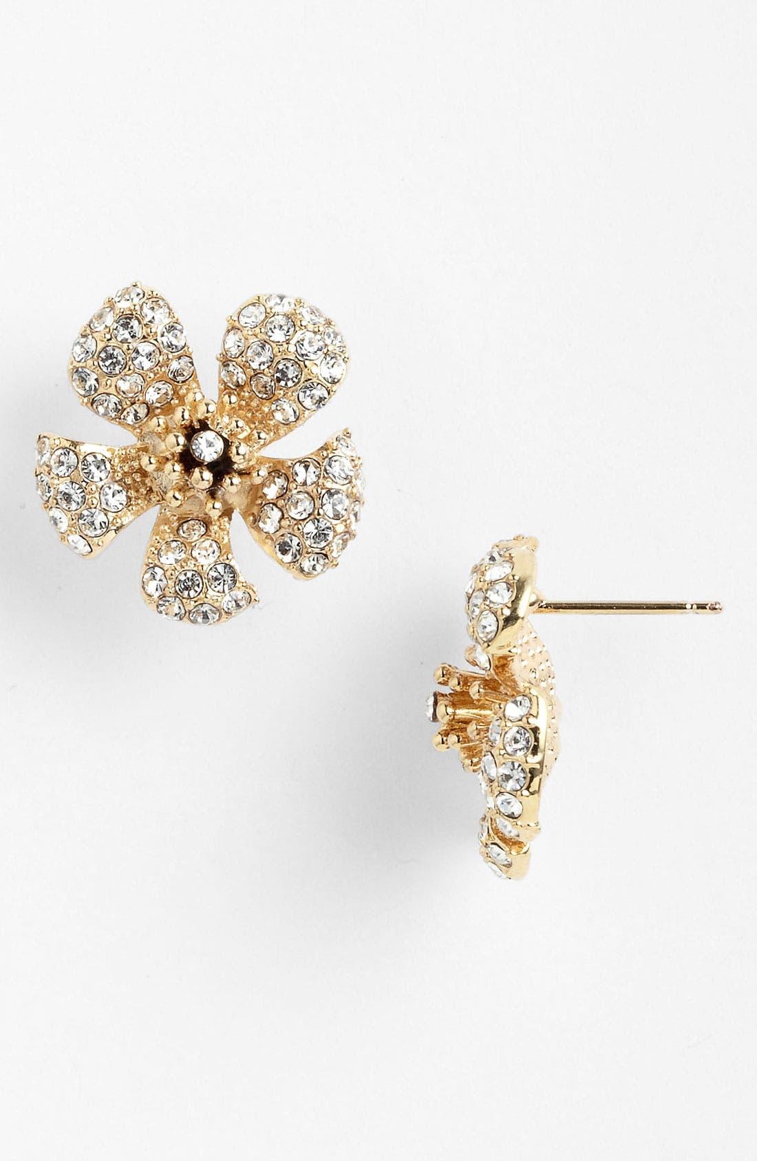 Main Image - Cara Flower Stud Earrings