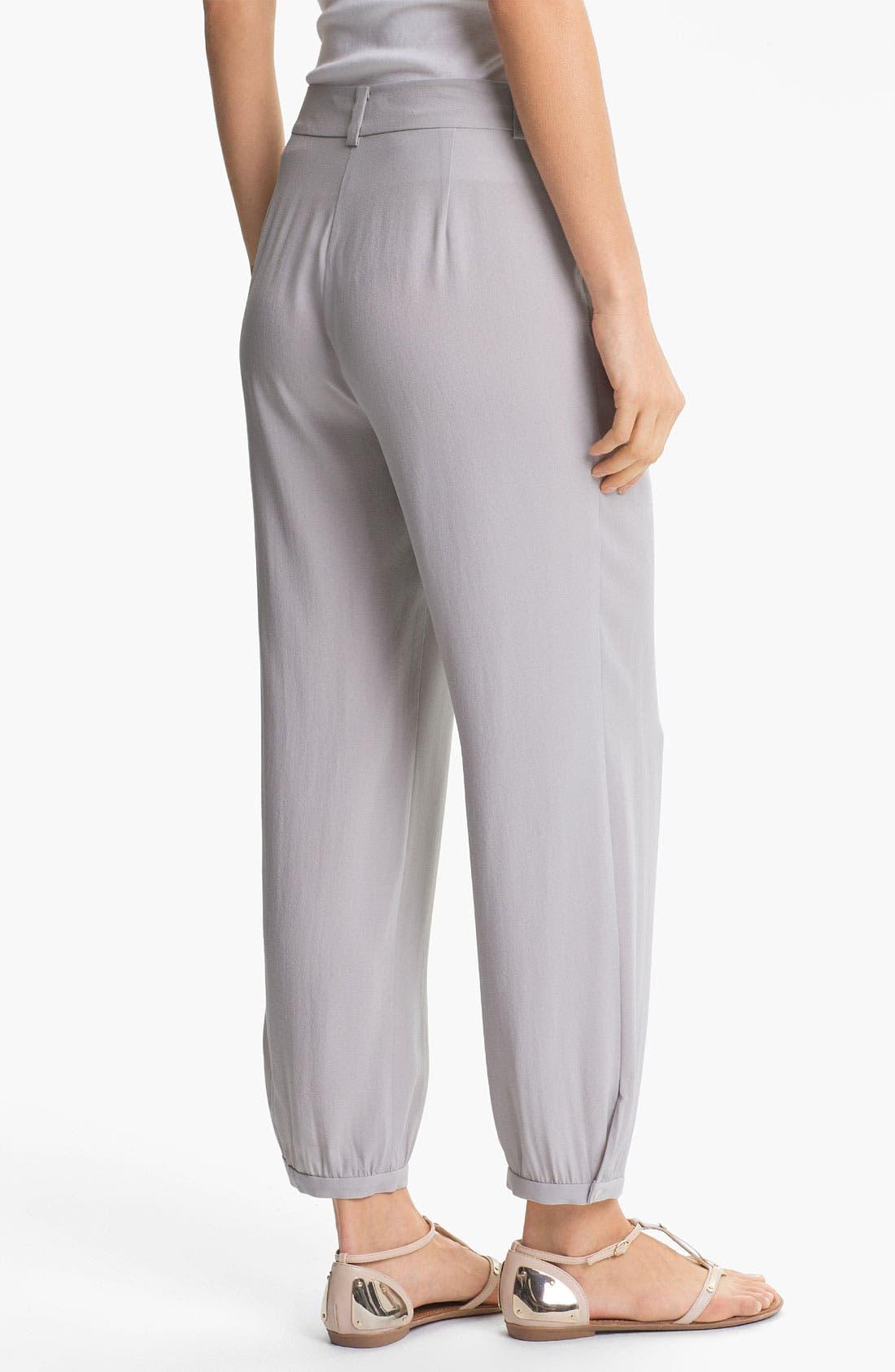 Alternate Image 2  - Eileen Fisher Silk Georgette Crepe Pants