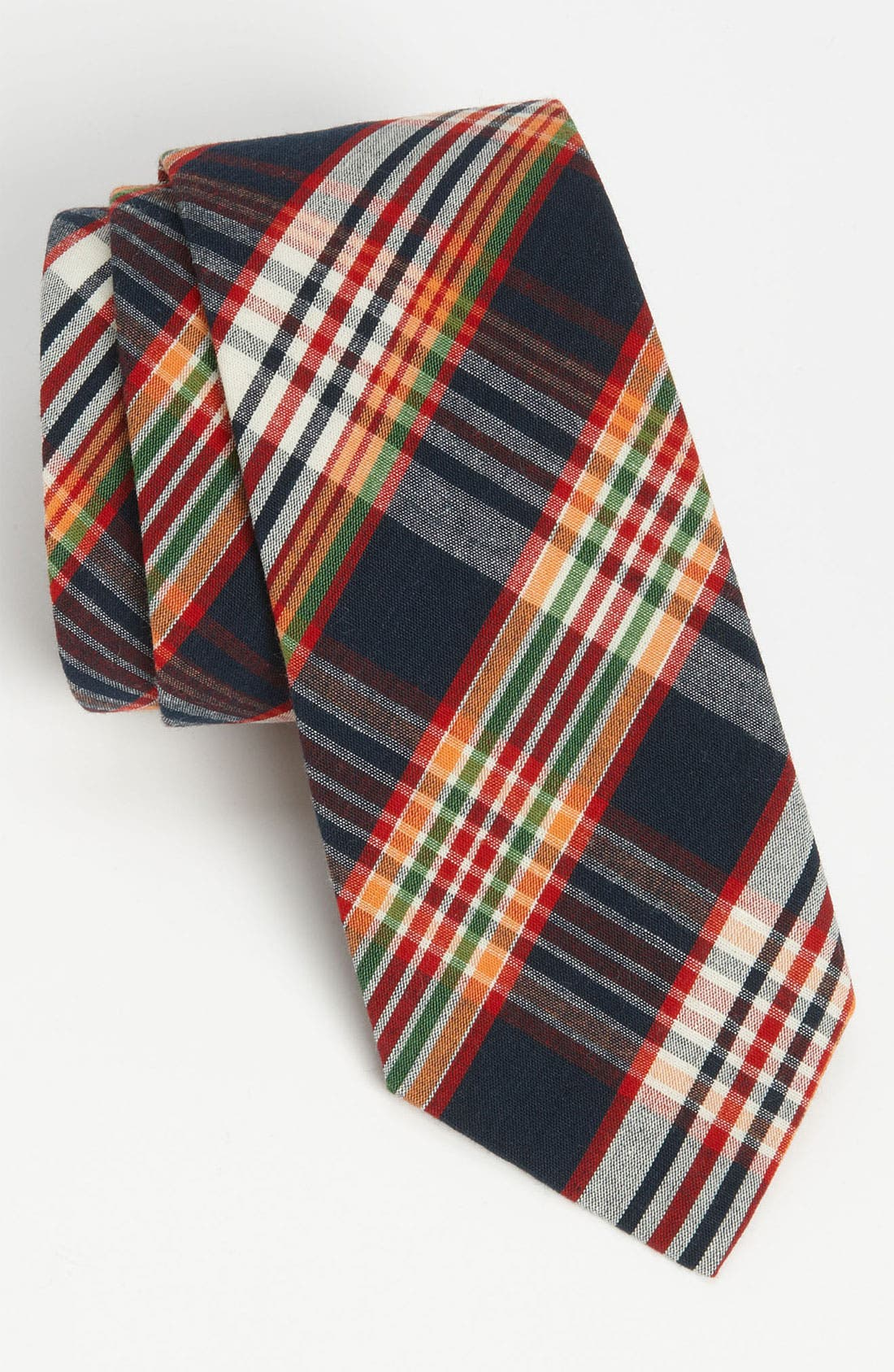 Alternate Image 1 Selected - Gitman Woven Cotton Tie
