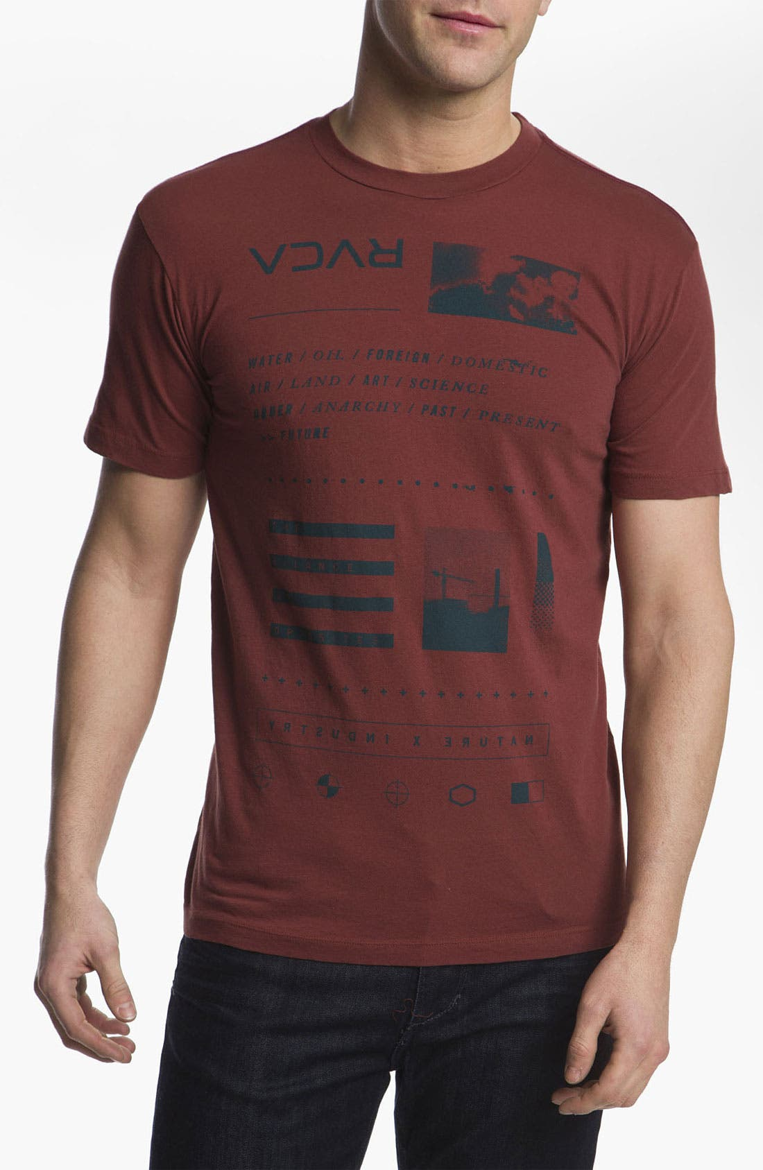 Alternate Image 1 Selected - RVCA 'Stability' T-Shirt