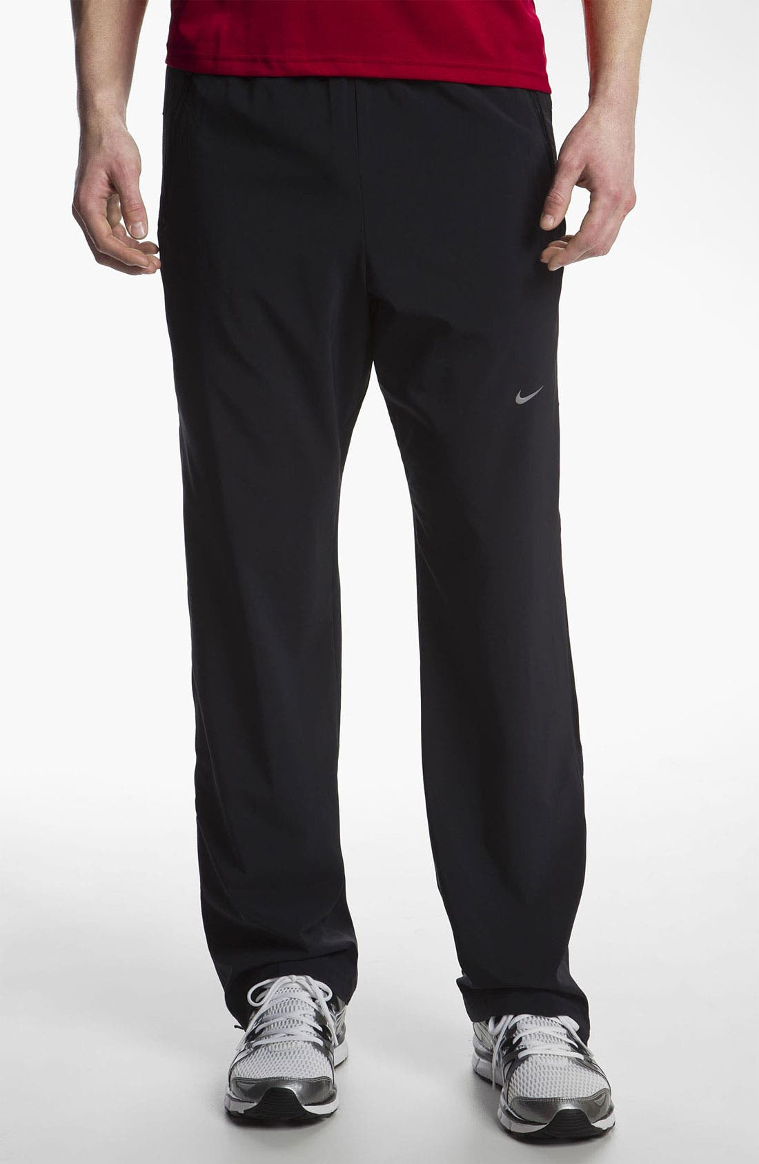 Alternate Image 1 Selected - Nike Stretch Woven Track Pants