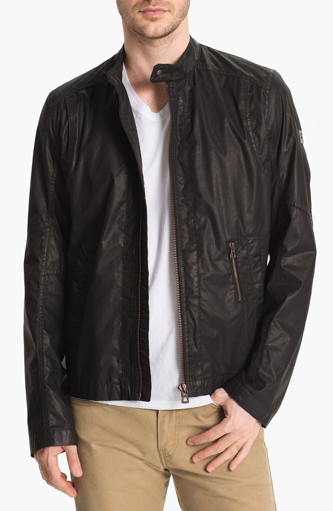 Alternate Image 1 Selected - BOSS Orange 'Odelta' Coated Cotton Jacket