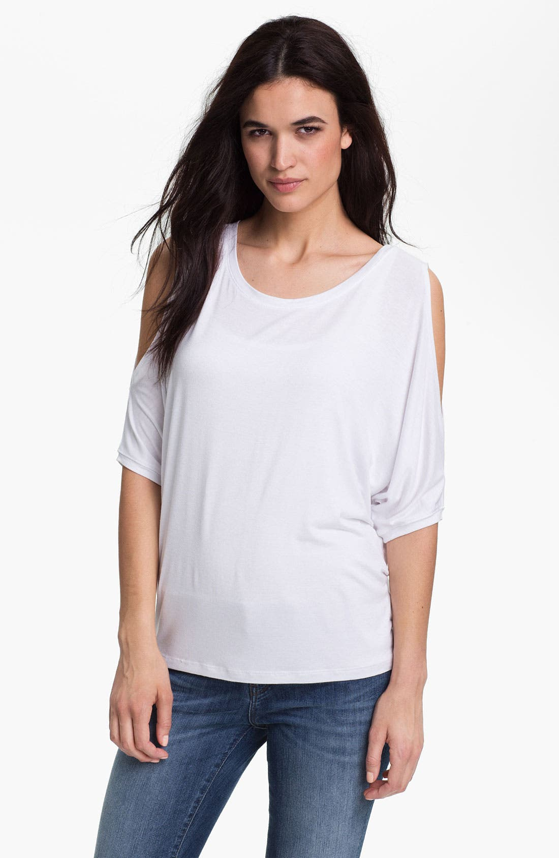 Alternate Image 1 Selected - KUT from the Kloth 'Luna' Cold Shoulder Top