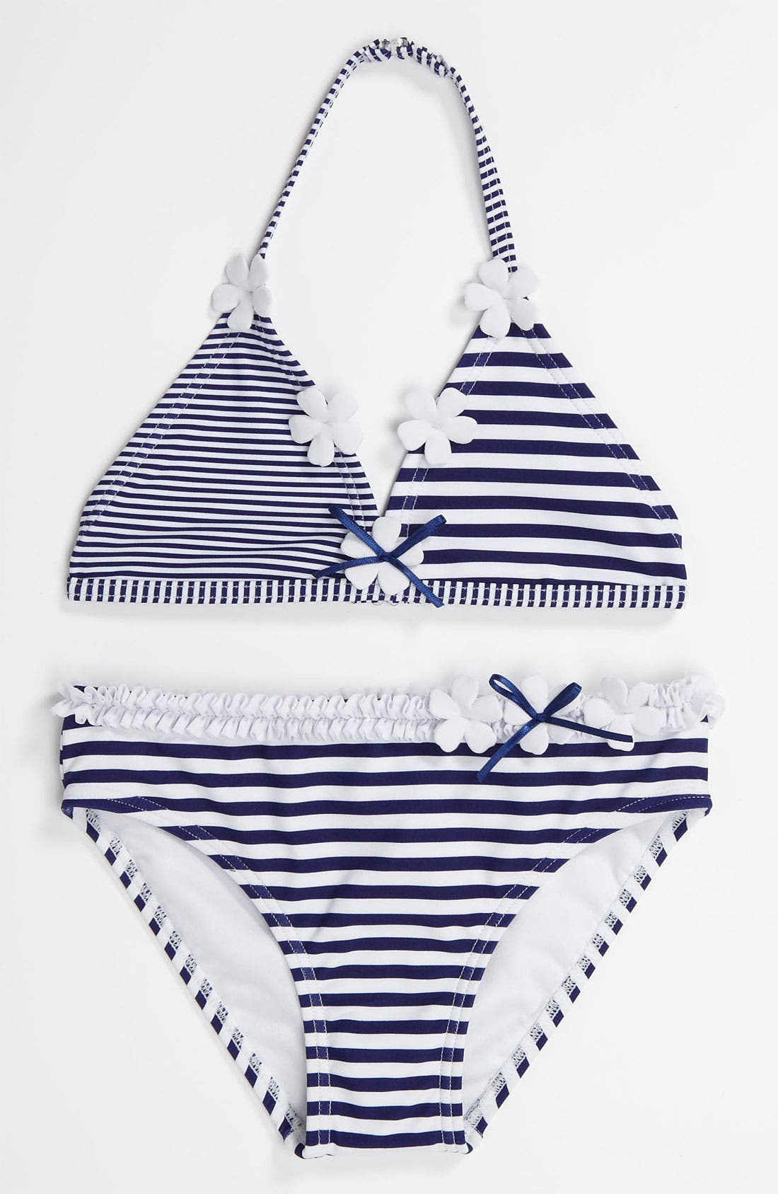 Main Image - Hula Star Two Piece Swimsuit (Little Girls)