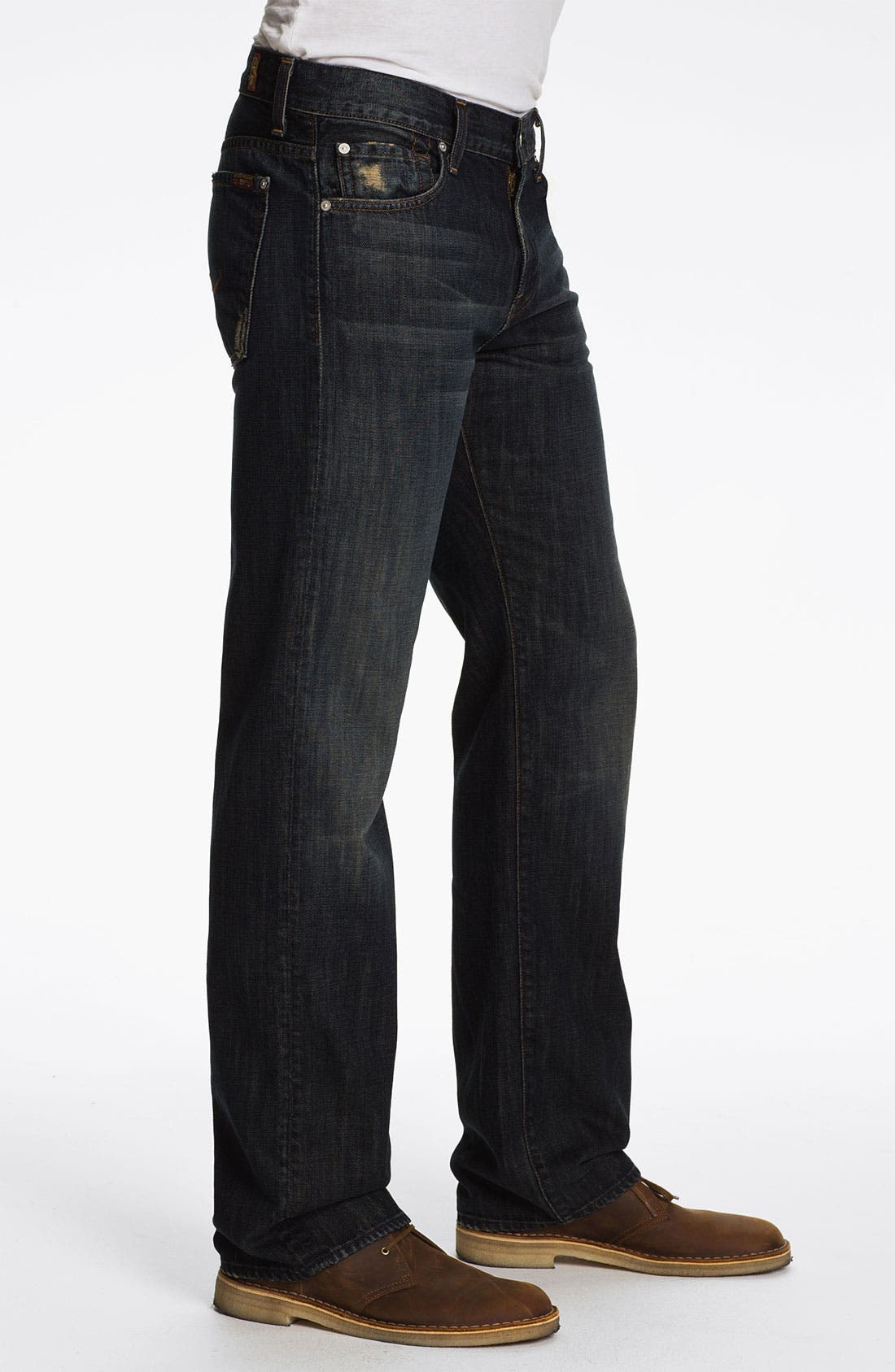 Alternate Image 3  - 7 For All Mankind® 'Austyn' Relaxed Straight Leg Jeans (Montana)