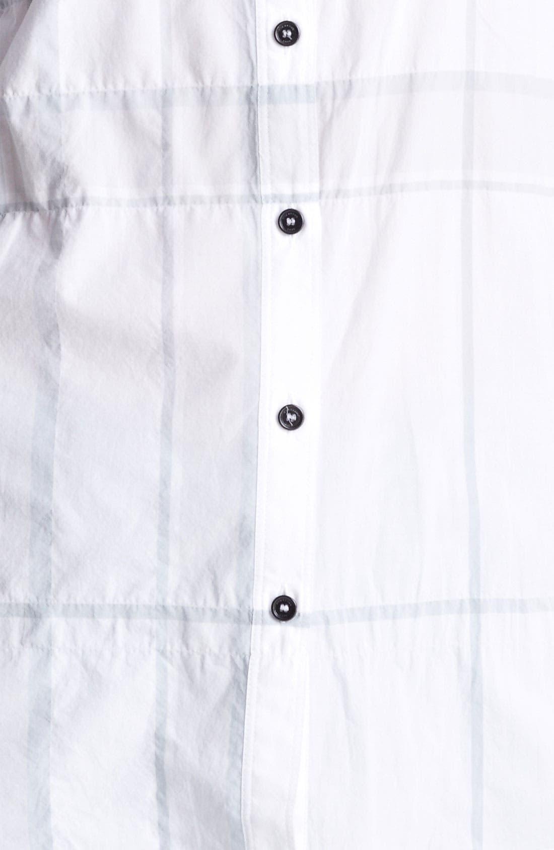 Alternate Image 3  - Burberry Brit Check Print Tunic