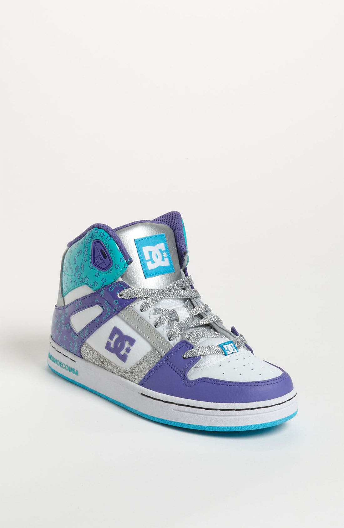 Main Image - DC Shoes 'Rebound' Skate Shoe (Toddler, Little Kid & Big Kid)