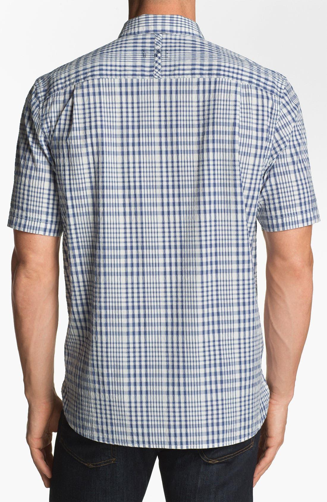 Alternate Image 2  - Tommy Bahama Denim 'Paradise Heights' Short Sleeve Sport Shirt