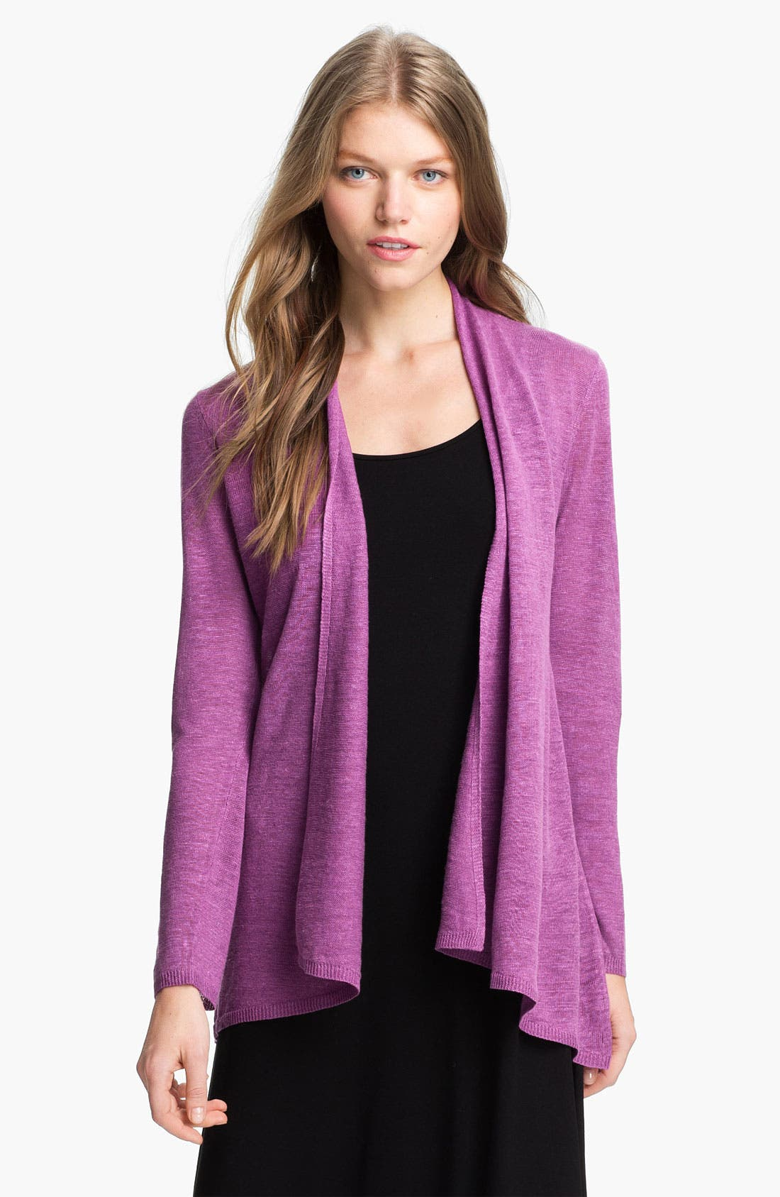 Main Image - Eileen Fisher Flutter Cardigan