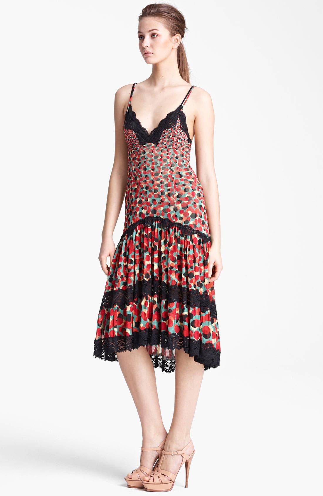 Main Image - Jean Paul Gaultier Fuzzi Print Tulle Dress