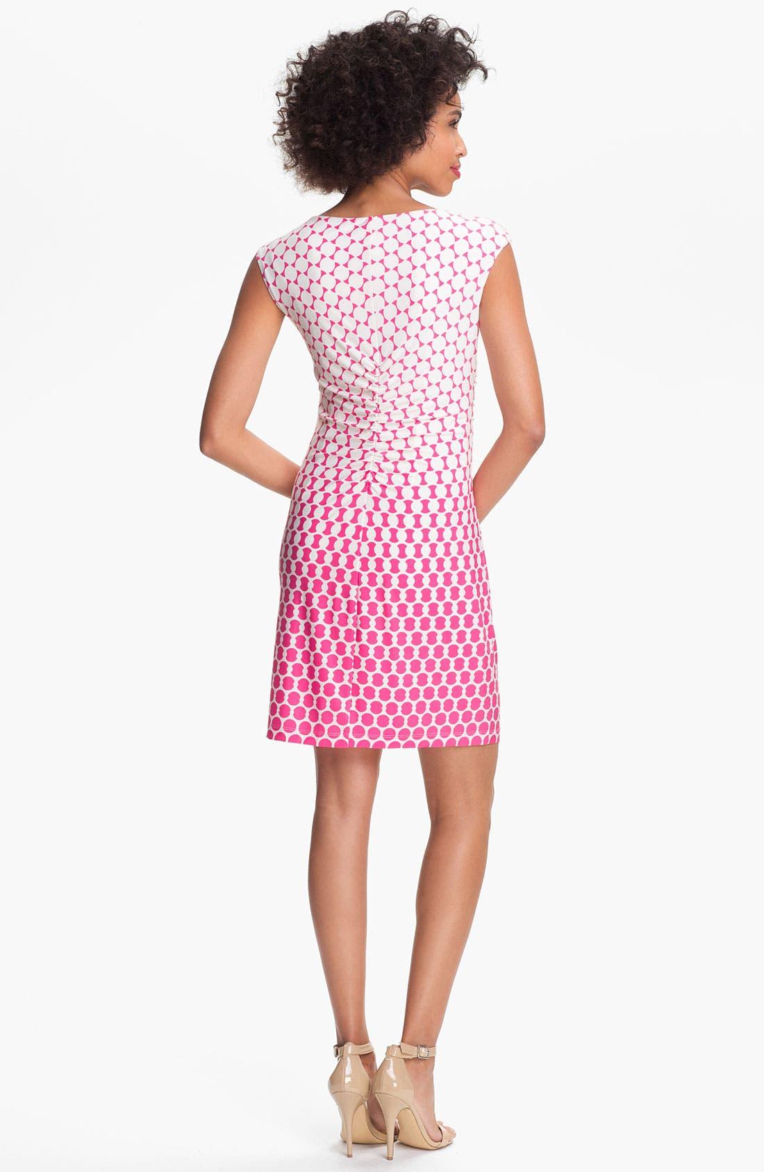 Alternate Image 2  - Donna Morgan 'Maddison' Embellished Print Sheath Dress