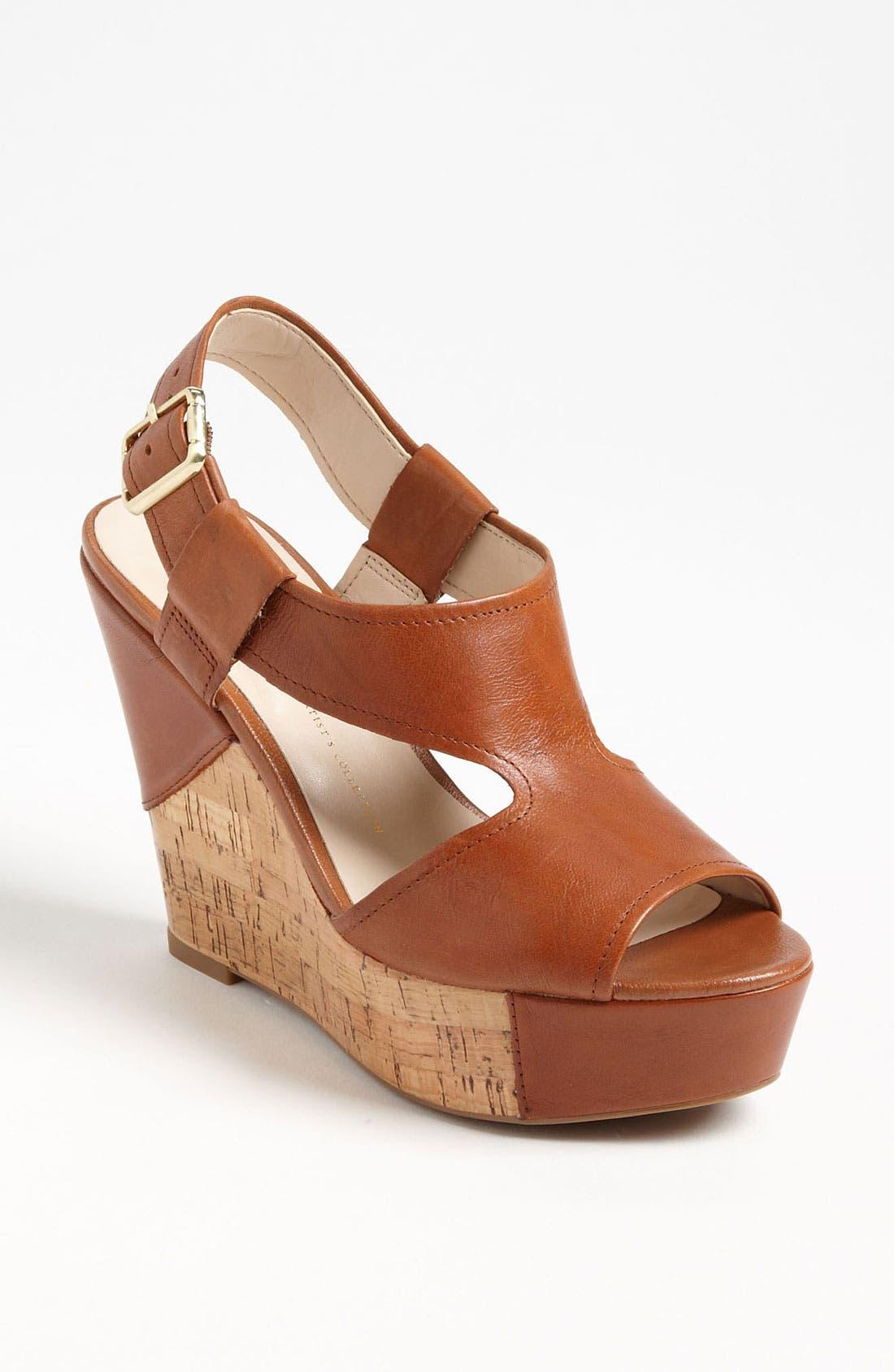 Alternate Image 1 Selected - Franco Sarto 'Xenon' Wedge Sandal (Special Purchase)