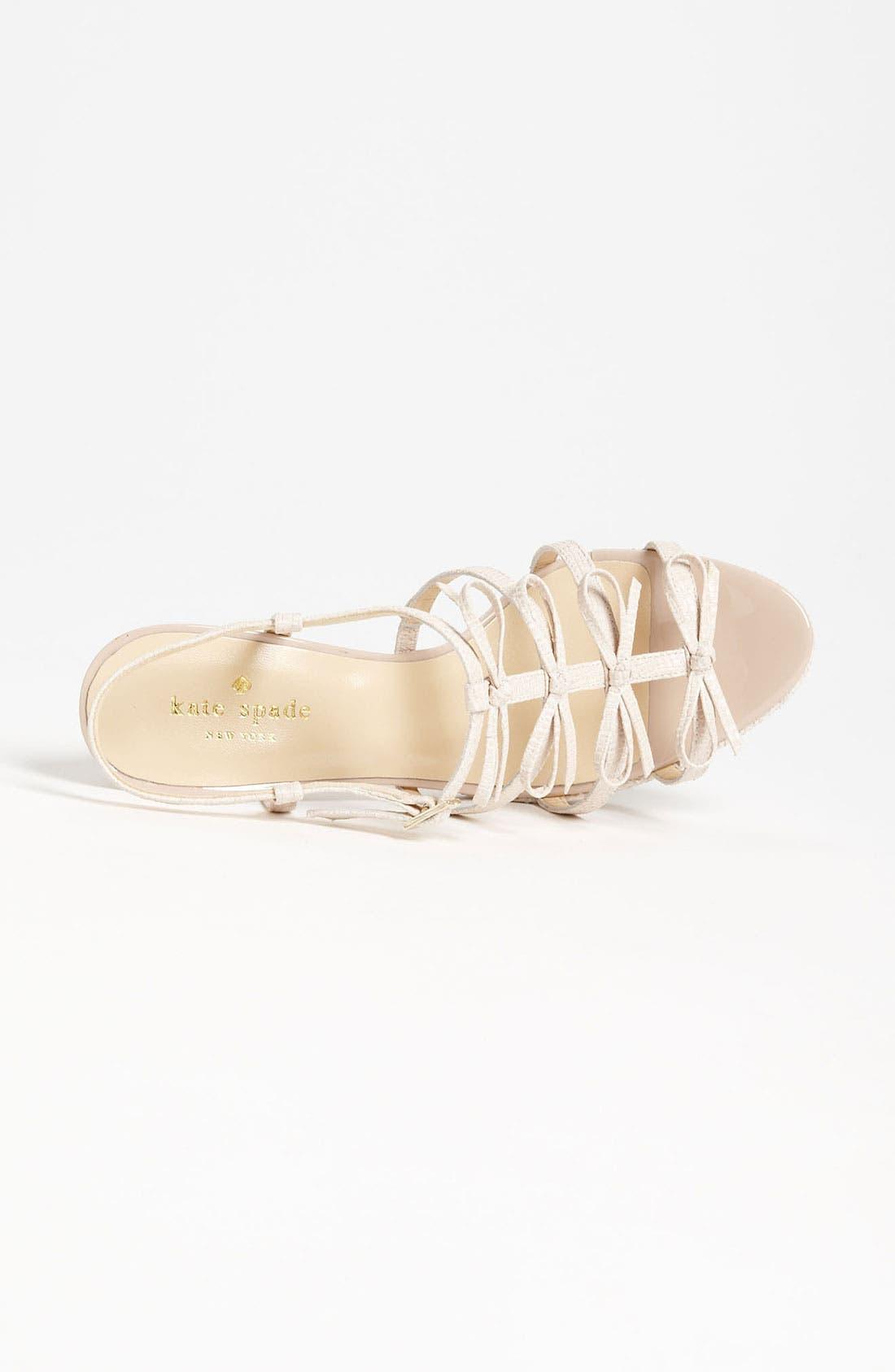 Alternate Image 3  - kate spade new york 'baylyn' sandal
