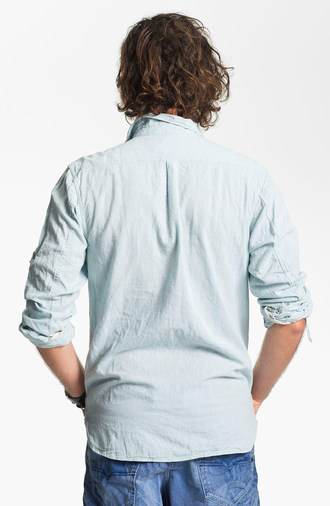 Alternate Image 2  - Scotch & Soda Linen & Cotton Shirt