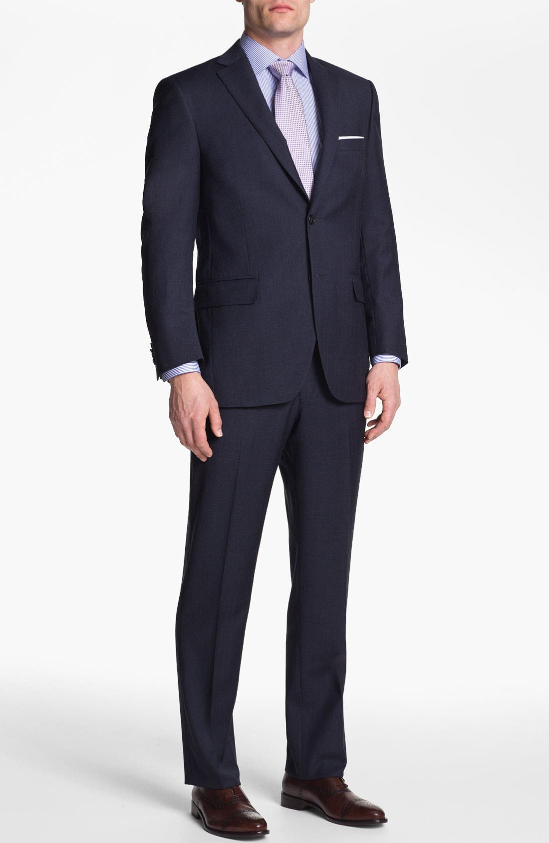 Alternate Image 2  - Peter Millar Wool Suit