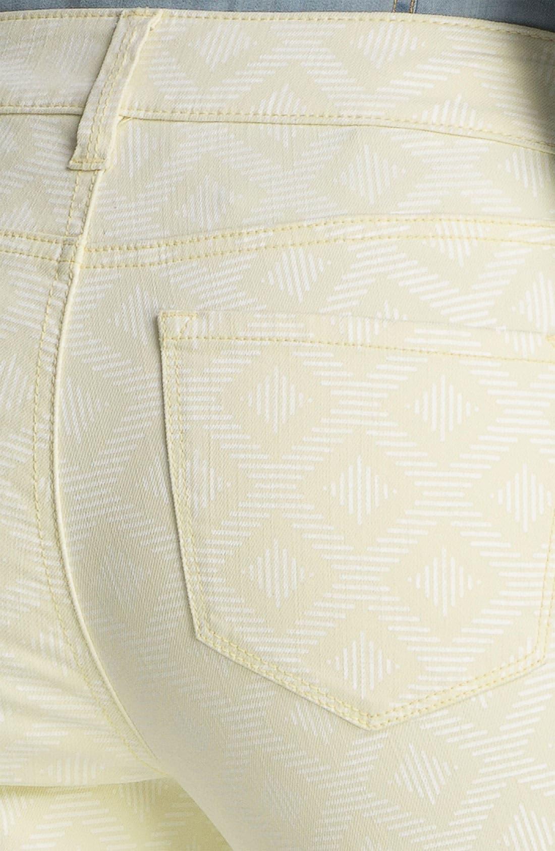 Alternate Image 2  - NYDJ 'Alisha - Jacquard' Skinny Stretch Ankle Jeans