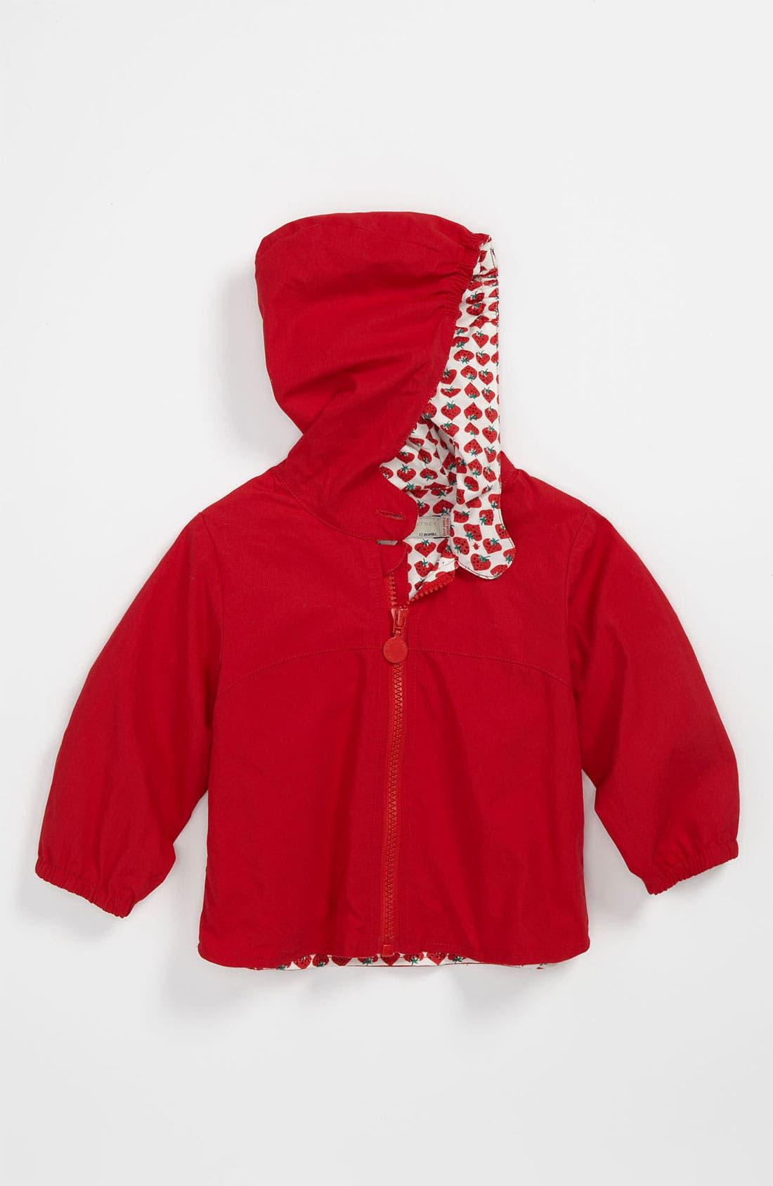 Main Image - Stella McCartney Kids 'Duckie' Raincoat (Baby)