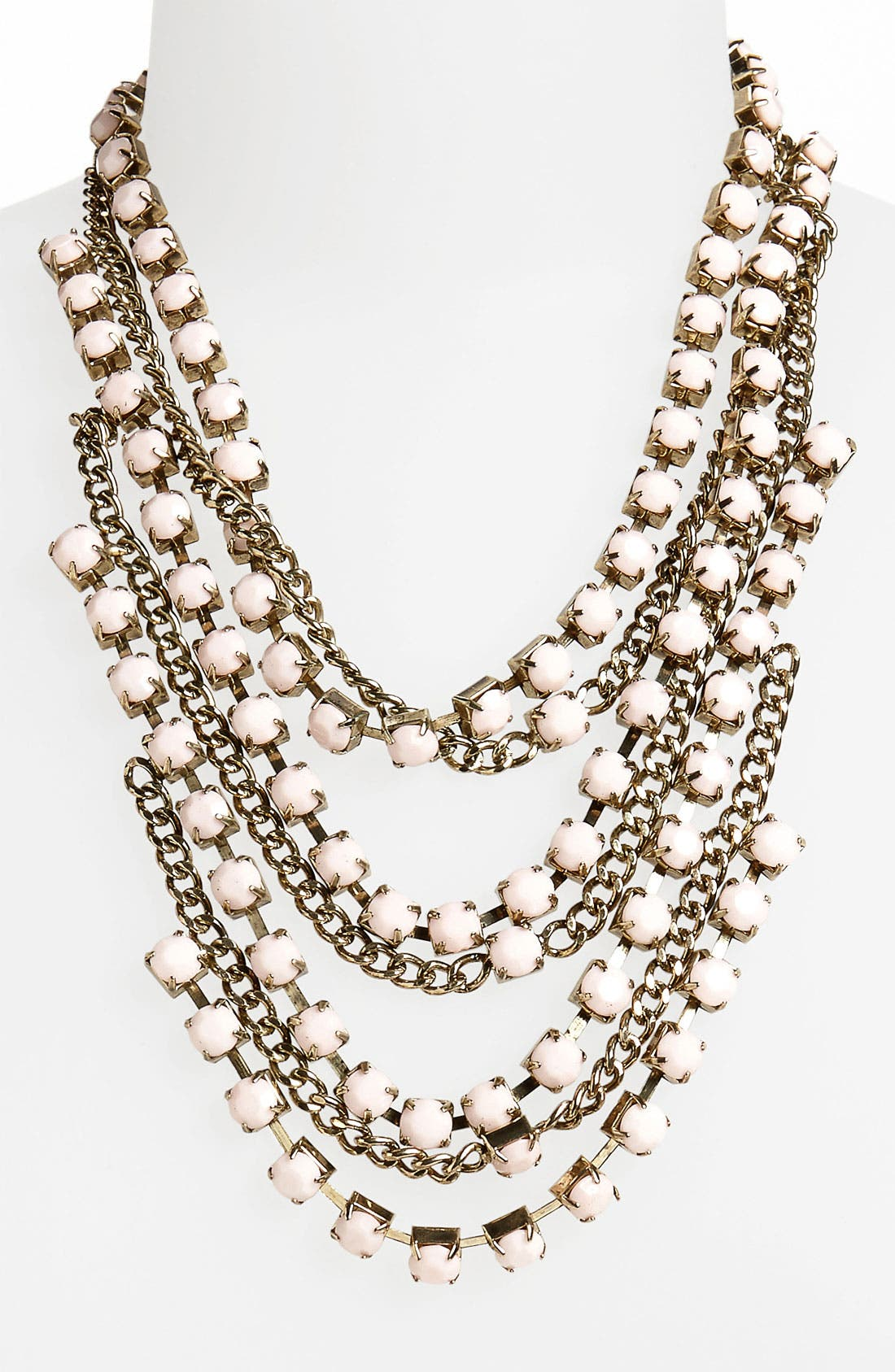Alternate Image 1 Selected - Topshop Multistrand Necklace