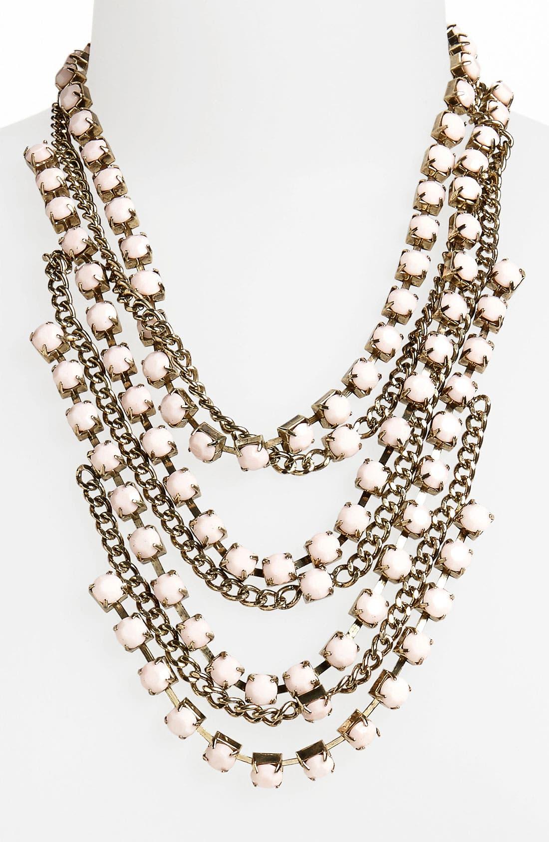 Main Image - Topshop Multistrand Necklace