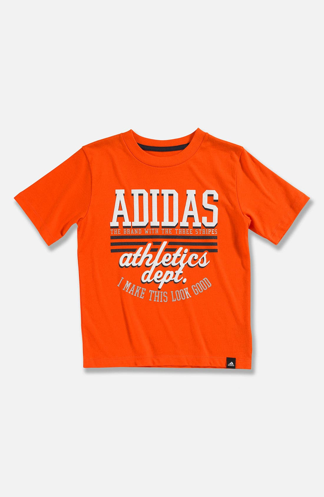 Main Image - adidas 'Athletic Department' T-Shirt (Little Boys)